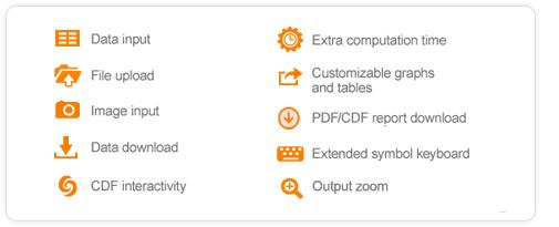 Wolfram Alpha Pro features