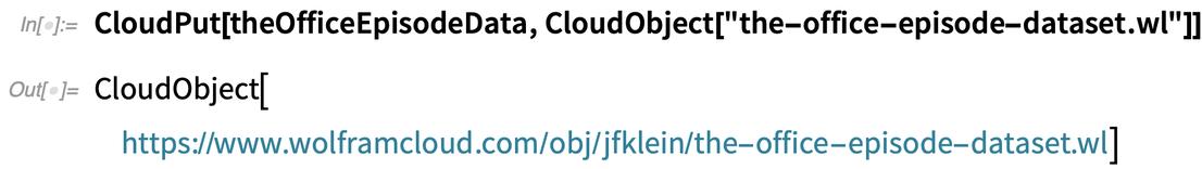CloudPut