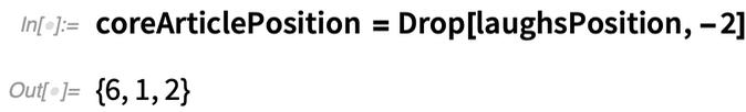 coreArticlePosition = Drop