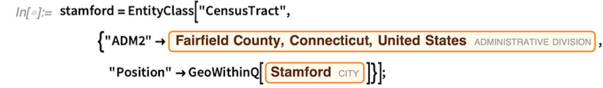stamford =  EntityClass
