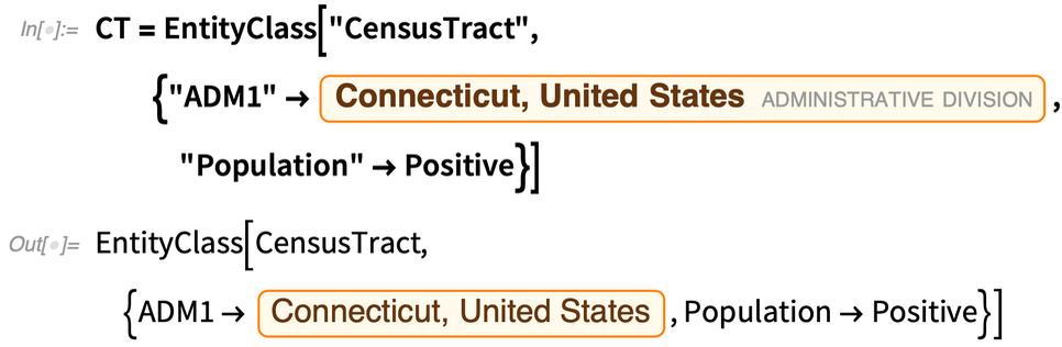 CT = EntityClass