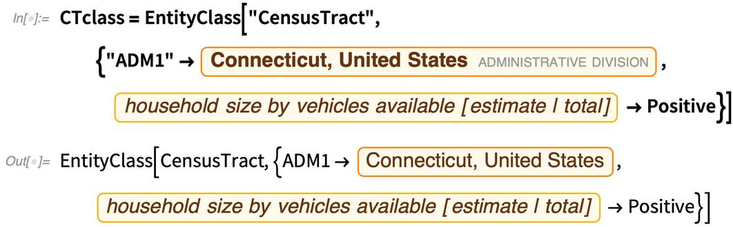 CTclass = EntityClass