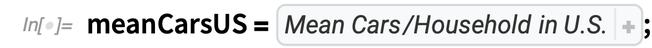 meanCarsUS = Association