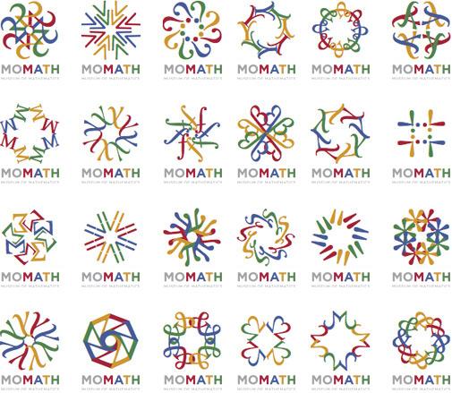 Museum of Mathematics logo array