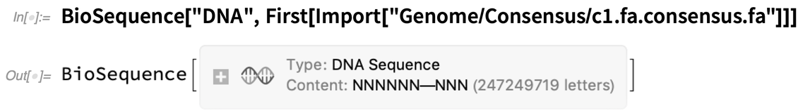BioSequence