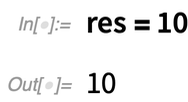 res = 10