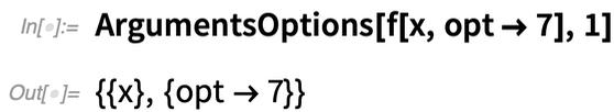 ArgumentsOptions