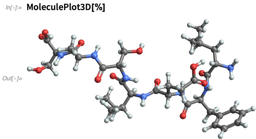MoleculePlot3D