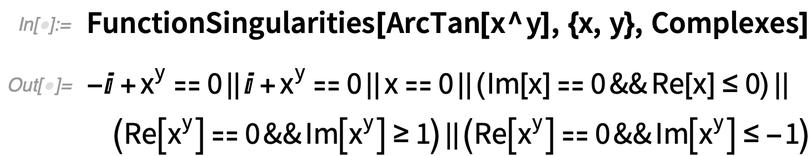 FunctionSingularities