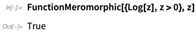 FunctionMeromorphic