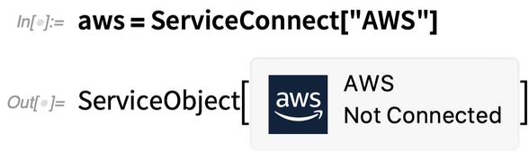 aws = ServiceConnect