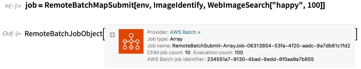 job = RemoteBatchMapSubmit