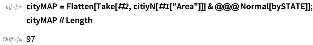cityMAP =  Flatten