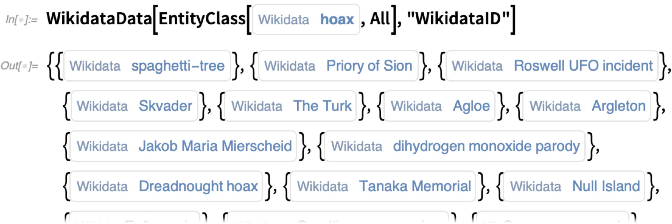 WikidataData