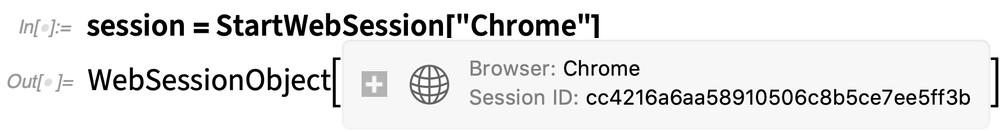 session = StartWebSession