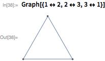 Graph[{1 <-> 2, 2 <-> 3, 3 <-> 1}]