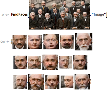 Physicists' faces