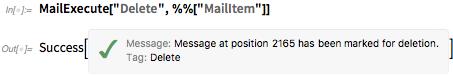 MailExecute