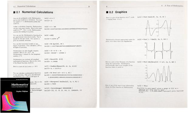 Wolfram Language Version 1 documentation