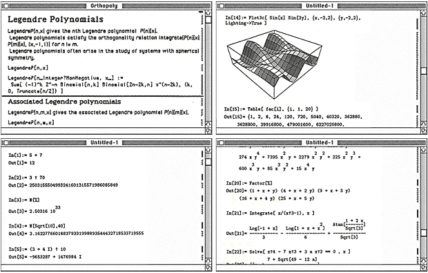 Early Mac notebooks