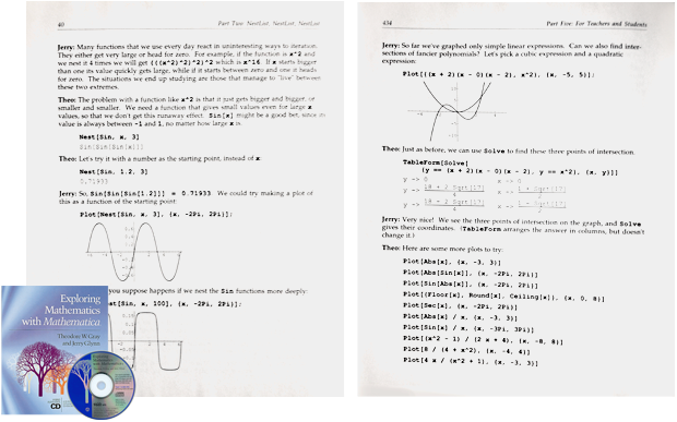 Notebook publication example