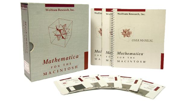 Mathematica floppy disks
