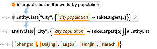 5 largest cities in the world by population