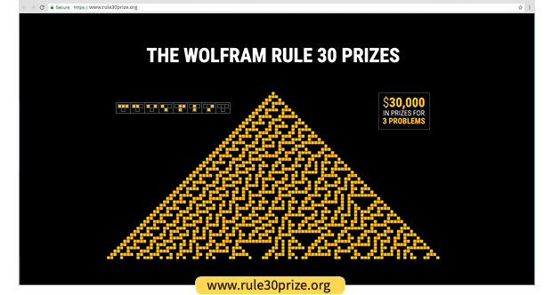 Announcing the Rule 30 Prizes