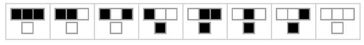 RulePlot[CellularAutomaton[30]]