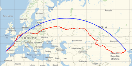 Travel directions, time, and distance—to anywhere