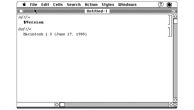 Version 1 screenshot