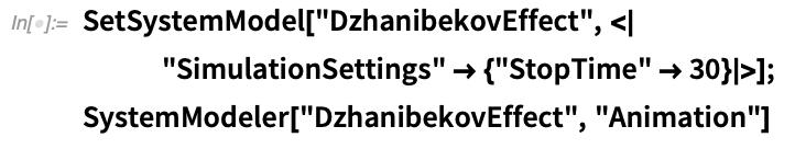 SetSystemModel